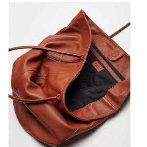 Leather Bag  NWT